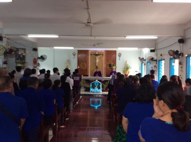 Thánh lễ Tạ Ơn tại Nhà Hưu Dưỡng Phát Diệm
